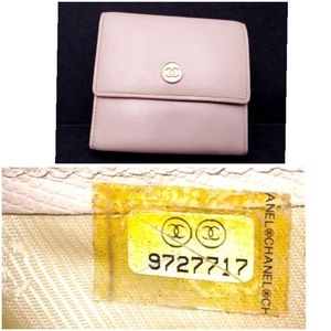 Authentic Chanel Caviar Leather Wallet - Gorgeous